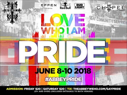 LA PRIDE 2018 GAY PRIDE IN LOS ANGELES ABBEY WEHO